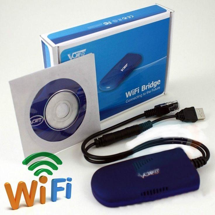 WiFi-Bridge Vonets VAP11G WLAN Bridge 54Mbit Nu äntligen kan du köra din DreamBox trådlöst hemma (inga mer kablar), vi har testat denna och den funkar kanon! WiFi-Bridge Vonets VAP11G WLAN Bridge 54Mbit Med den nya WIFI Bridge (WLAN Bridge), kan du integrera alla enheter i ditt trådlösa nätverk, oavsett mottagare, skrivare, spelkonsol eller PC. Liten stor- Satvision.se
