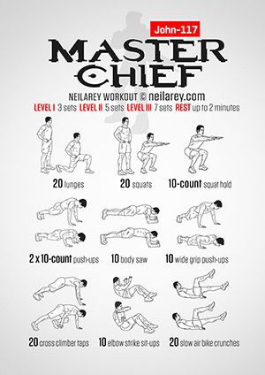 Master Chief Workout