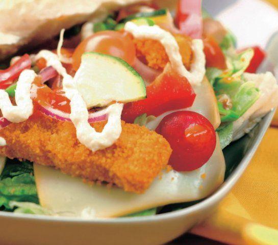 Rybí burger | Recepty.sk
