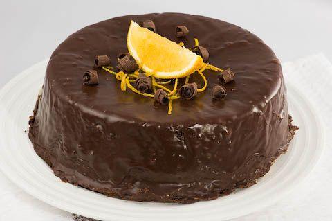 Appelsiini-suklaakakku