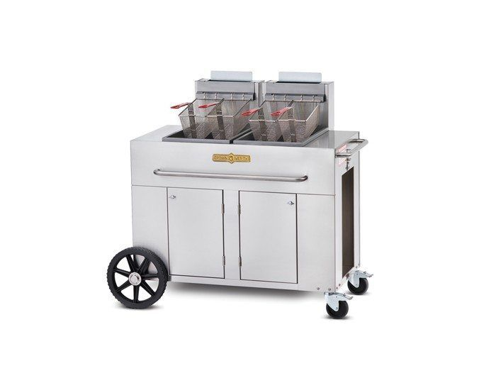 Double Tank Fryer - Professional Stainless Steel Fryers - Crown Verity