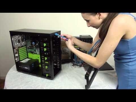 unRAID Network Storage Build - YouTube