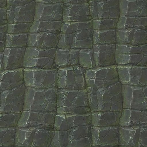 Dark Rocks 1 | Hand Painted Textures