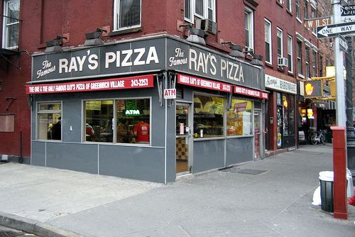 NYC - Greenwich Village: The Famous Ray's Pizza of Greenwich Village by wallyg, via Flickr