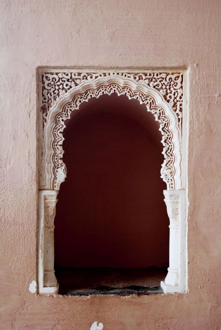 Arabic, art, arabesque, Malaga, Spain, España, Mauretania, mauretanian, lace, detail, architecture, wall, paint, building, castle,