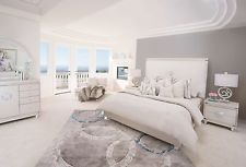 AICO Glimmering Heights Bedroom Set with California King Bed