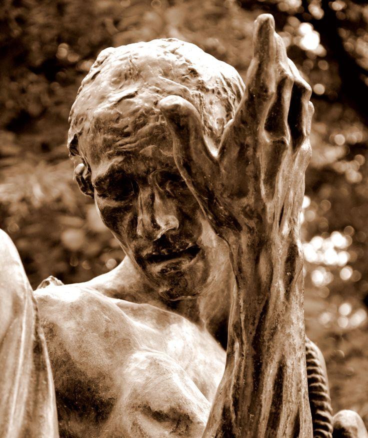 Les bourgeois de Calais (1889) par Auguste RODIN (1840-1917) - Tête de Pierre de Wissant - Bronze fondu en 1926 - Musée Rodin, Paris - Photo Hervé Leyrit