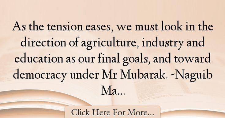 Naguib Mahfouz Quotes About Education - 16327