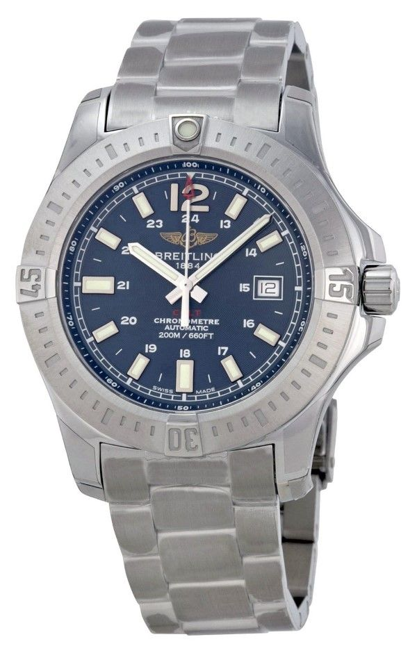 men watches | Top watchesBreitling Breitling Colt Automatic Blue Dial Stainless Steel Mens Watch A1738811-C906SS