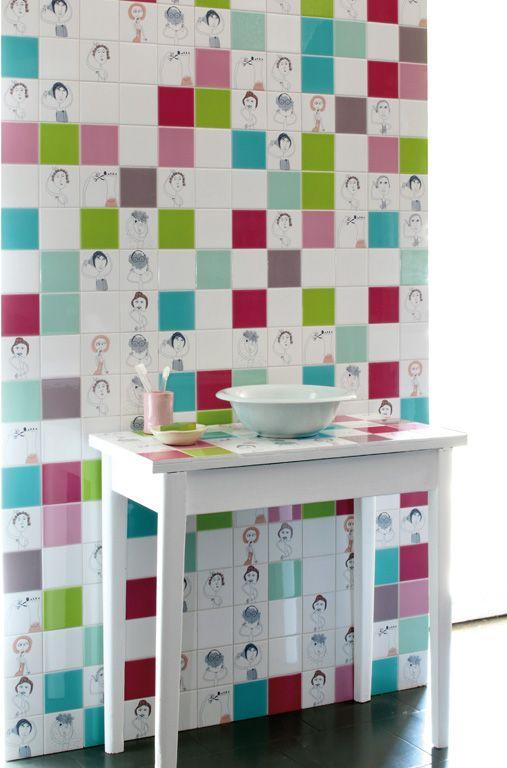 BATH TILES Designed by  Paula Juchem www.seniocer.it IL BIANCO E I SUOI DECORI collection