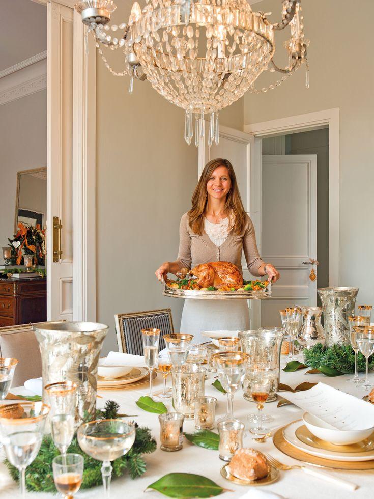 C mo decorar la mesa de navidad holds tomorrow - Como adornar mesa de navidad ...