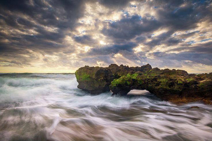 Coral Cove Jupiter Florida Seascape Beach Landscape Photography Photograph by Dave Allen