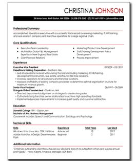 my perfect resume easy to build resumes for beginners - Perfect Resumes