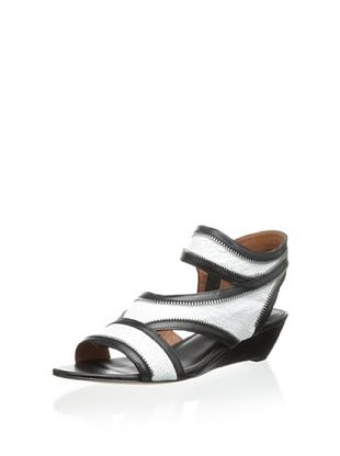 60% OFF Rebecca Minkoff Women's Lorant Wedge Sandal (White)