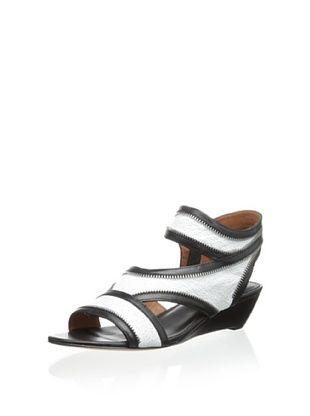 60% OFF Rebecca Minkoff Women's Lorant Wedge Sandal (White)