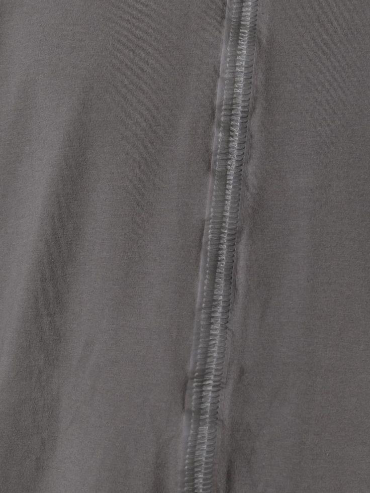 Isaac Sellam Experience Langarmshirt mit offener Naht
