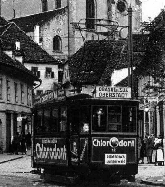 Sibiu - Tramvai - interbelica