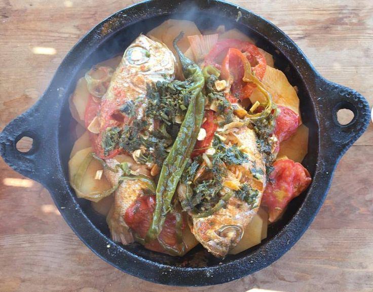 Marokkaanse tajine van vis
