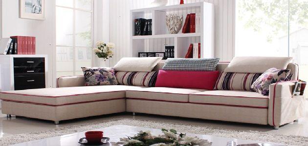 Small Living Room with Corner Sofa
