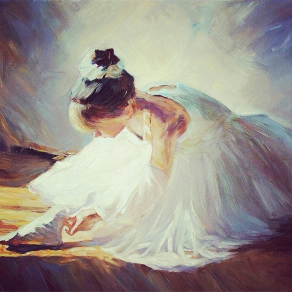 Ballerina painting | Art | Pinterest