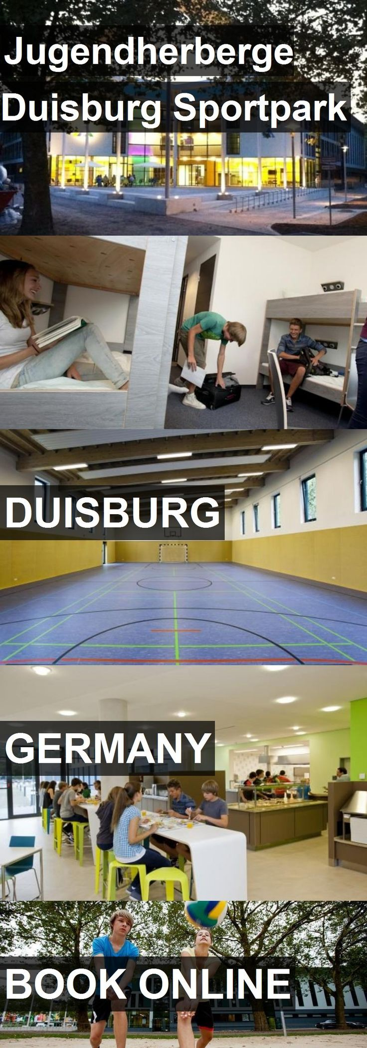 Hotel Jugendherberge Duisburg Sportpark in Duisburg, Germany. For more information, photos, reviews and best prices please follow the link. #Germany #Duisburg #travel #vacation #hotel