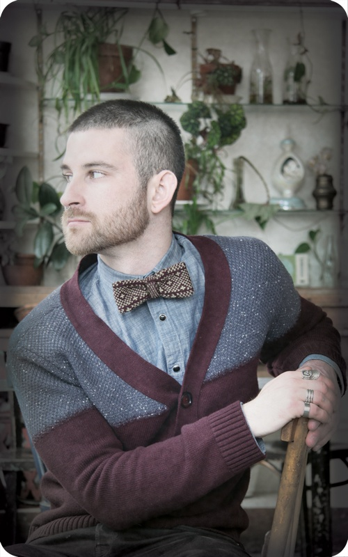 BREED knitting: Men S Style, Style, Mens Style, Men S Fashion, Bow Ties, Cardigan, Bowties, Bowtie Combo