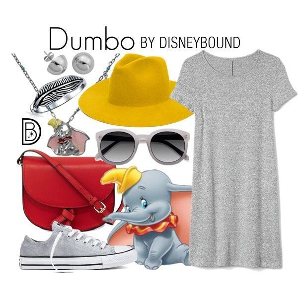 "5,091 Likes, 34 Comments - DisneyBound (@thedisneybound) on Instagram: ""🐘 #dumbo #Disneybound #disneystyle || 💛 @leslieakay • • • #disney #disneyland #disneyworld…"""