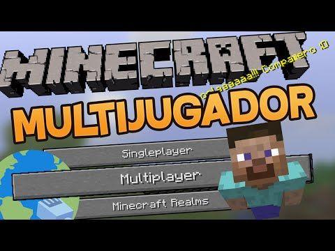 COMO JUGAR MINECRAFT ONLINE GRATIS (FACILÍSIMO) Minecraft Multijugador - YouTube