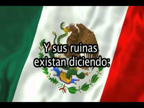 """Himno Nacional Mexicano (Musica y Letra) """"Completo"""" - YouTube"""