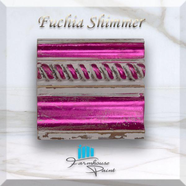 Fuchia Shimmer Sample