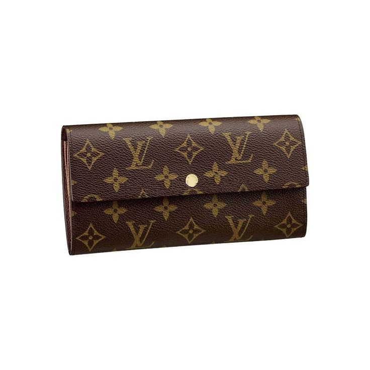 #GameDay#LV Louis Vuitton Sarah Brown Wallets M61734! OMG!! Holy cow, I'm gonna love this site!