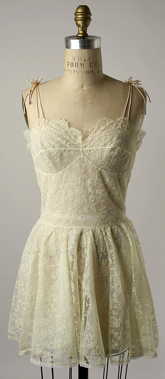 Nightgown, ca. 1956