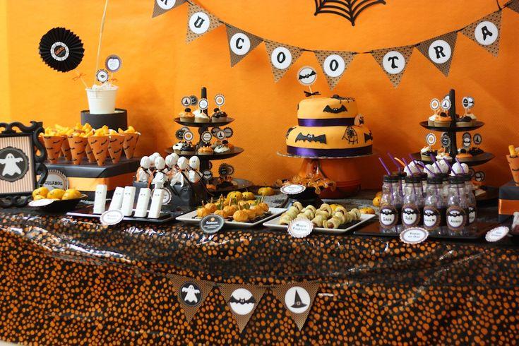 Organizando una fiesta infantil de Halloween, nuestros peques comerán de miedo. Primera Parte ~ The Little Club. Decoración infantil para bebés y niños.