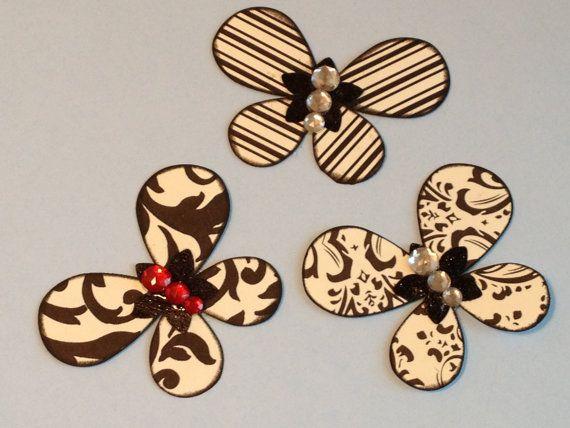 2 Bits and A Dollar Butterflies Handmade by StuffDepot on Etsy, $1.25