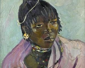 Portrait of a young Mpondo - Irma Stern