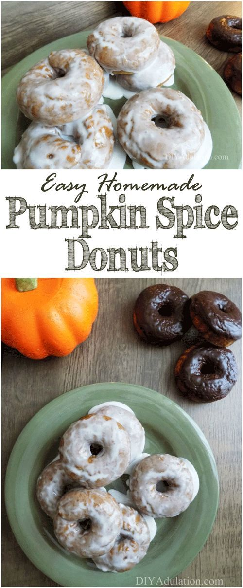 Quick breakfasts don't have to be limited to cereal and Pot Tarts. These easy homemade pumpkin spice donuts are a delicious and fast breakfast idea.