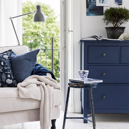 Whether it's a matter of colour choices or finishes, you don't have to be limited by what's available when you can so easily use paint, wallpaper, fabric, moulding or other design tricks to give old furniture a new look, or ready-made furniture a completely new style.