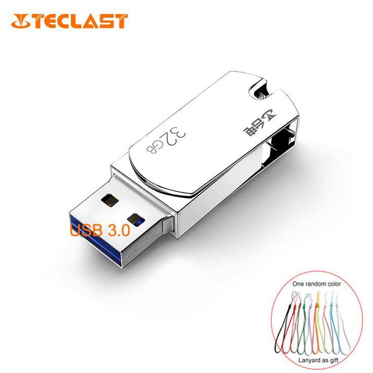 Teclast USB Flash Drive 64GB 32GB 16GB 8GB 4GB usb 3.0 Pen Drive memoria usb stick 128GB Pendrive memory Metal Flash usb 32gb