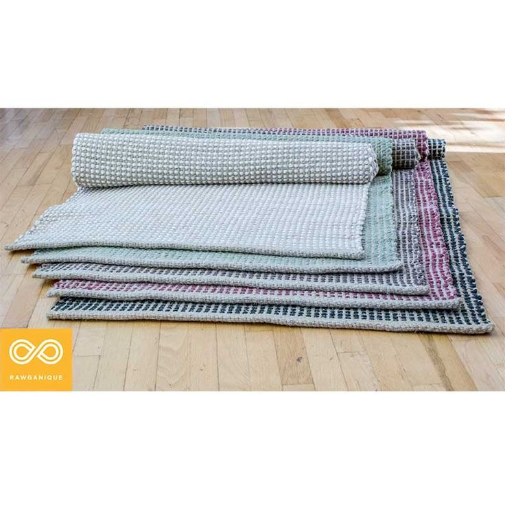 Organic Cotton Belgium Linen Bath Rug: Textile : Rug Images On Pinterest