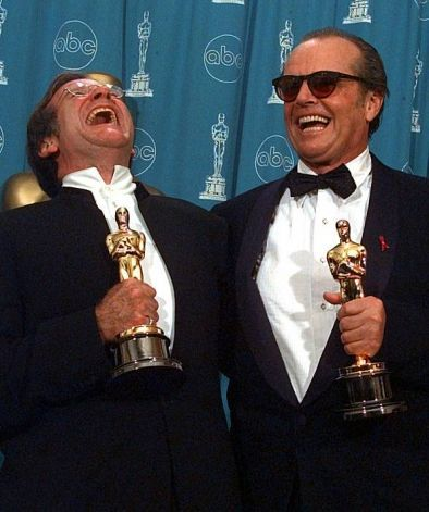 "2/08/2014 11:18pm The Academy Awards Ceremony 1998: Jack Nicholson Best Actor Oscar for ""As Good As It Gets"" 1997. Robin Williams Best Supporting Actor Oscar for ""Good Will Hunting"" 1997."