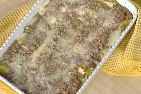 Ricetta Cannelloni gratinati - Alessandra Spisni