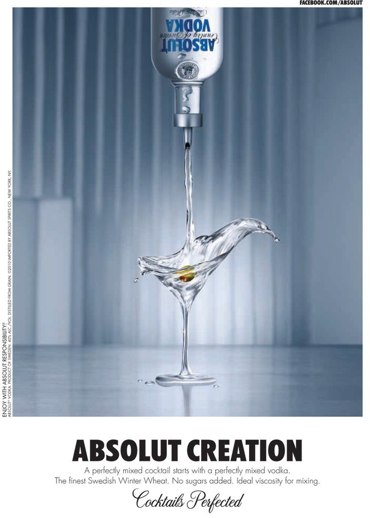 alcohol vodka booze pour absolute
