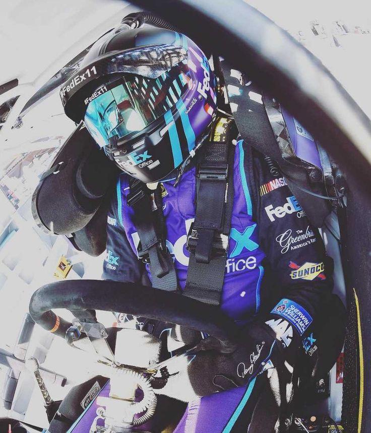 The Week in Instagram: Dover: Monday, May 16, 2016 - Driven. @dennyhamlin. #Dover #NASCAR @FedEx