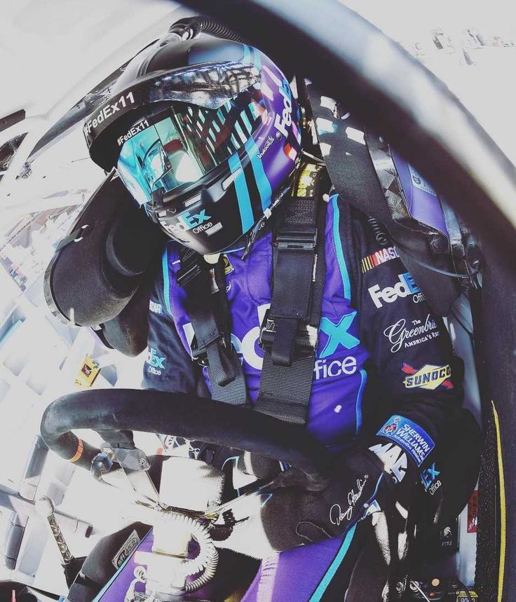 The Week in Instagram: Dover:   Monday, May 16, 2016  -   Driven. @dennyhamlin. #Dover #NASCAR @FedEx