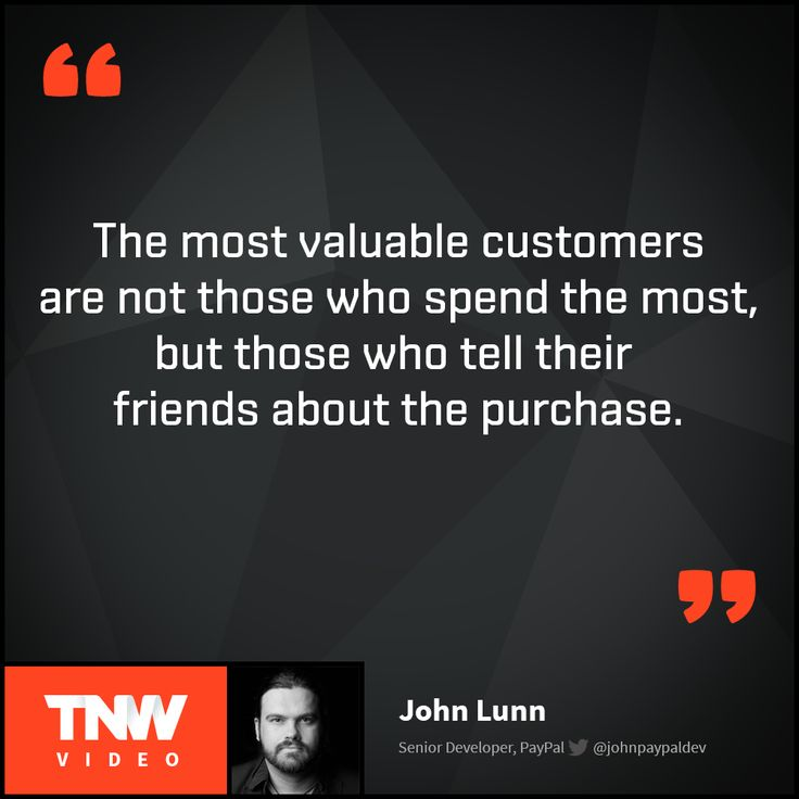 John Lunn talks about the future of shopping. Are brick and mortar stores slowly changing into showrooms? Watch John Lunn's talk on TNW Video.
