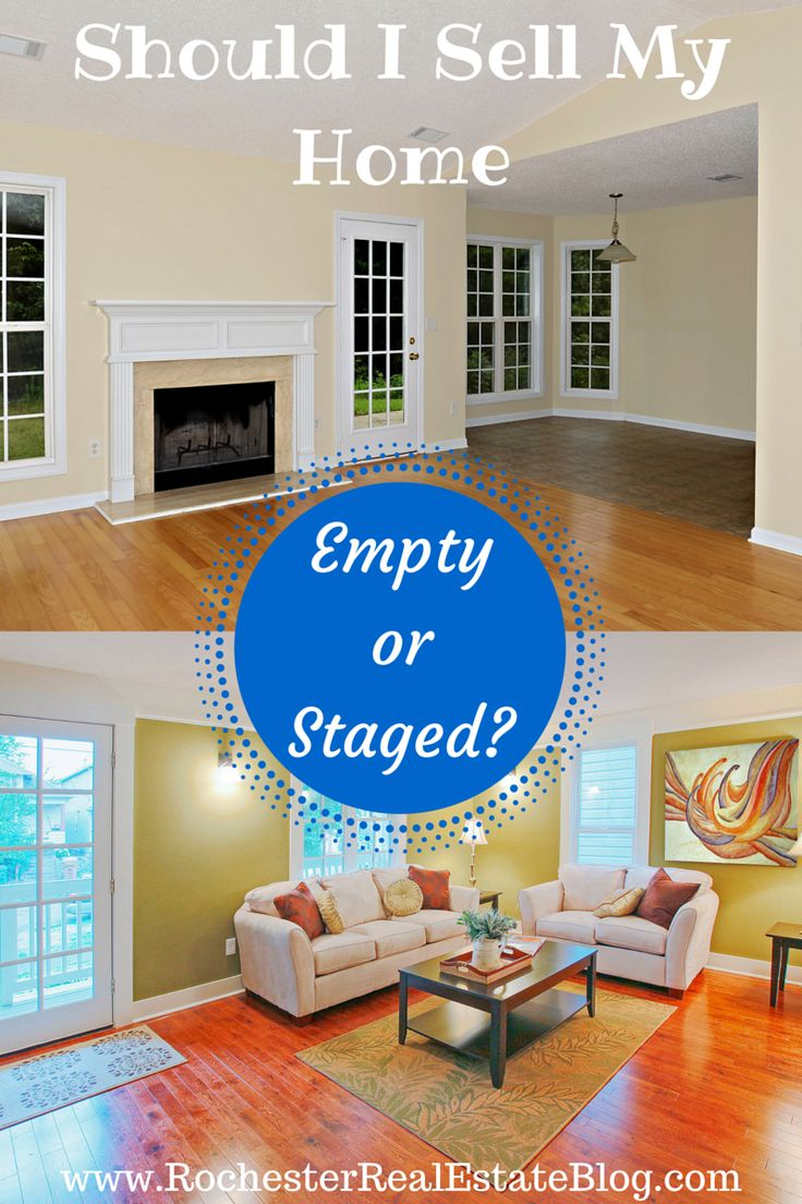 Should I Sell My Home Empty or Staged - http://www.rochesterrealestateblog.com/sell-home-empty-or-staged/ via @KyleHiscockRE