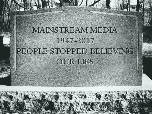 Mainstream Media?s Death Rattle: Multiple Corporate Establishment Outlets Now Labeling Each Other ?Fake News?