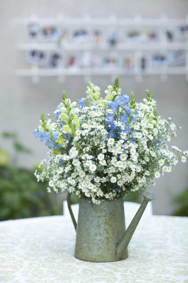 watering can centerpieces - Google Search
