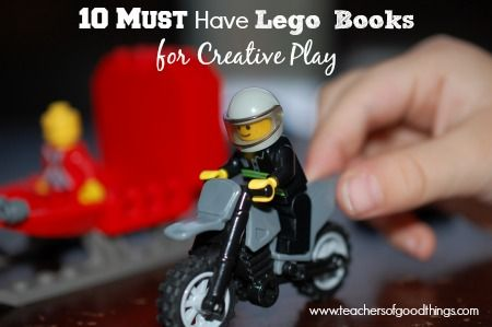 10 Must Have Lego Books for Creative Play www.teachersofgoo...