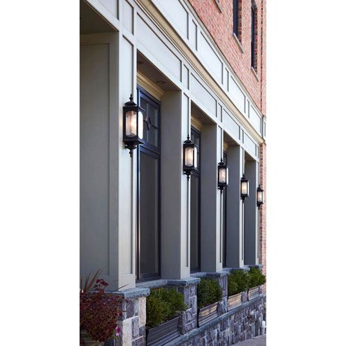 Kahler Rubbed Bronze Three Light Outdoor Wall Mount Mill U0026 Mason Wall  Mounted Outdoor On Sale
